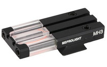 Meprolight FT Bullseye Rear Sight S&W M&P Shield Fiber Optic Red Black