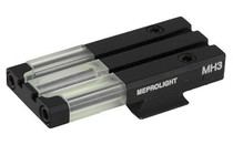 Meprolight FT Bullseye Rear Sight S&W M&P Shield Fiber Optic Green Black