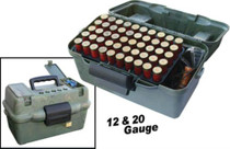 MTM Molded Products Mtm Case Gard Deluxe Shotshell Case Holds 100 Rounds 12/20 Camouflage