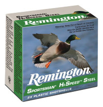 Remington Sportsman Hi-Speed Steel Loads SST20M4 20 Ga, 25rd/Box
