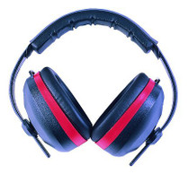 Radians Silencer Earmuffs NRR 26dB Red/Black