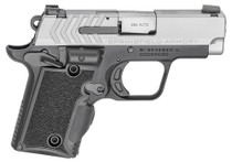 Springfield 911 380 ACP, Stainless Steel, Green Laser, 6rd