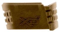 Springfield XD-S Mag 9mm Flat Dark Earth Finish, Backstrap 2