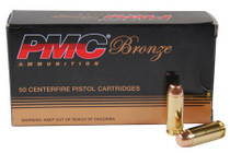 PMC Bronze CP Target 25 ACP 50gr, FMJ, 50rd Box