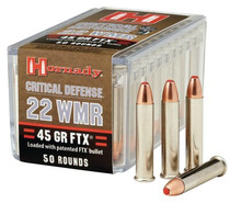 Hornady Critical Defense FTX 22 Win Mag 45gr, 50rd Box