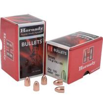 Hornady Full Metal Jacket Bullets 9mm .355 115gr, Full Metal Jacket Round Nose, 500/Box