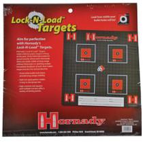 "Hornady Lock-N-Load Paper Targets .5"" Grid Pattern 10 Per Pack"