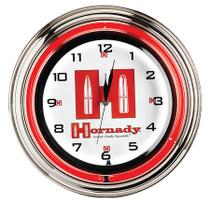 "Hornady 17"" Clock"