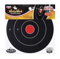 """Birchwood Casey Dirty Bird Splattering Targets 8"""" Bullseye, Package Of 25"""