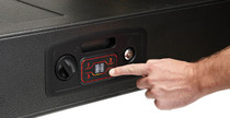 Hornady Rapid Gun Safe, AR, Black