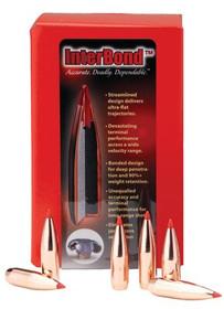 Hornady Rifle Bullets 6.5mm .264 129gr InterBond, 100/Box