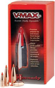 Hornady Varmint Bullet .257 Diameter 75gr, V-Max, 100rd/Box