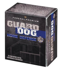 Federal Premium Guard Dog .45 Auto 165 Grain JHP Guard Dog 20rd Box