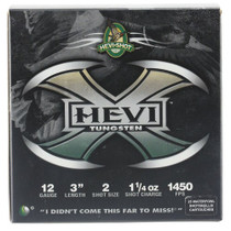 "HEVI-Shot Hevi-X Waterfowl 12 Ga, 3"", 1-1/4oz, 2 Shot, 25rd/Box"