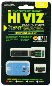 Hiviz LiteWave Henry Lever Fiber Optic Set Front Green/Red/White Rear Green