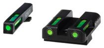 Hiviz LiteWave H3 Tritium/LitePipe Glock 45 10