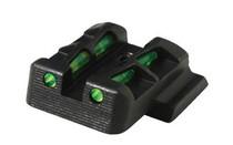 Hiviz LiteWave Glock 42/43 Green Black