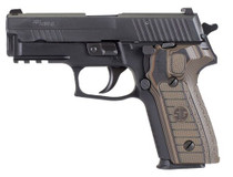 Sig P229, 9mm, 3.9In, Select, Black, Da/Sa, Siglite, Select, (2) 15Rd Steel Mag, SRT