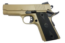 "Rock Island Armory 1911 CS Compact 9mm 3.5"" Barrel FDE Cerakote 8rd Mag"
