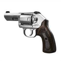 Kimber K6S Stainless (3-Inch Barrel) .357 Mag, Walnut Grip, Brushed Stainless