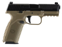 FN 509 NMS 9mm, Flat Dark Earth/Black, No-Manual Safety, LE, 17rd
