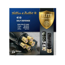 "Sellier & Bellot Shotgun 410 Ga 3"" Lead 15 Pellets 000 Buck 25 Bx/ 20"