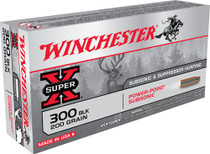 Winchester Super-X 300 AAC Blackout 200gr, EXPHP, 20rd Box