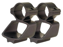"""Leupold Rifleman High Rings, Weaver Style Base, 1"""" Diameter, Matte Black"""