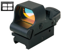 Aimshot Osprey Holographic 1x 34mm Obj Unlimited Eye Relief 3/5/8/12 MOA