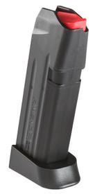 Amend2 Glock 19 9mm Magazine, Black, 15rd