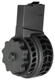 X Products X-25 308 Win/7.62MM Magazine, Chevron, Black, 50rd