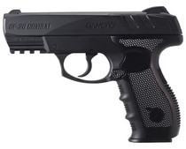 Gamo GP-20 Combat Air Pistol, .177, BB's Only, CO2, Black, 20rd