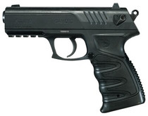 Gamo P-27 Dual Air Pistol, .177, Pellets Or BB's, CO2, Black, 16rd