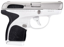 "Taurus Spectrum Double 380 ACP 2.8"", /7+1 Black Polymer Grip SS/White,  6 rd"