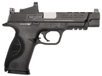 """Smith & Wesson M&P 9 Ported, Red Dot Double 9mm 5"""" Barrel 17rd Mag"""