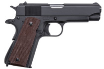 "Thompson 1911 Commader Single 45 ACP 4.25"" Barrel Brown Polymer Grip Black 7rd Mag"