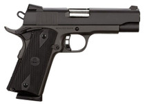 "Rock Island Rock Standard MS Single 45 ACP 4.25"" Barrel, Black Rubber Grip Bl, 8rd"