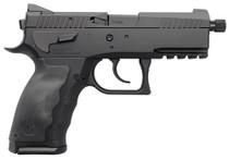 """Kriss Sphinx Single/Double 9mm 3.7"""" Barrel, Black Interchangeable Backstraps, 15rd"""