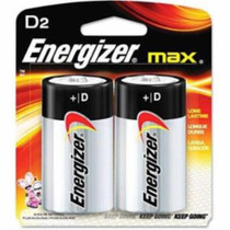 Energizer D Battery Max, 2 Pack