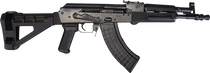 "IMG HELLPUP POLISH AK PISTOL 7.62X39MM 12"" Barrel W/Arm Brace 2-30RD MAGS"