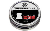 RWS 2317382 Super-H Point Pellets .22 Pellet Lead 250