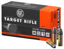 RWS 22 LR 22 LR Lead Round Nose 40gr 50rd/Box