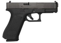 "Glock G45 Compact 9mm, 4"" Barrel, Fixed Sights, Ambi Slide Stop Lever, Flared Mag Well, 3x17rd Mags"