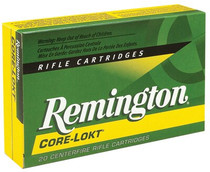 Remington Core-Lokt 6.5mmX55mm Pointed Soft Point 140gr, 20rd Box