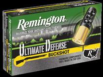 "Remington HD Ultimate Home Defense Shotshell Loads Buckshot 12 Gauge, 2.75"", 9 Pellets 00 Buckshot 5rd/Box"