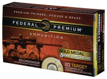 Federal 6.5 Creedmoor 140gr, 4x20rd/Boxes and Bag
