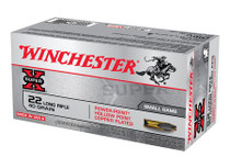 Winchester Super-X 22LR 40gr, Plated Power Hollow Point, 500/Case