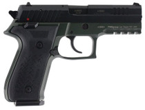 """Arex Rex Zero 1 Standard Single/Double 9mm, 4.3"""" Barrel, OD Green, 17rd"""