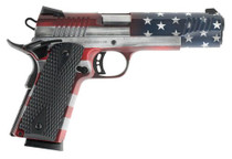 "Citadel 1911-A1 FSP Flag Cerakote 45 ACP 5"" Barrel, Black G10 Grips, 8 RD, USA Flag Finish"