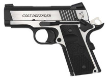 "Colt Combat Elite Defender 1911 45 ACP, 3"" Barrel, Night Sights, 8rd Mag"